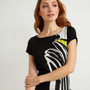 Zebra Print Dress Style 211344