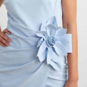 Flower Adornment Dress Style 211469