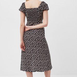 Daisy Drape Midi Dress