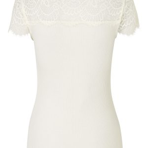 Ivory Silk T-shirt
