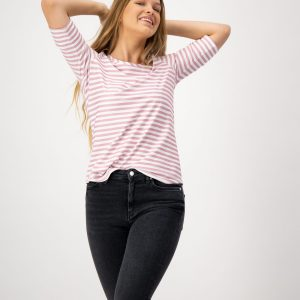 Rosa Pink Striped Top