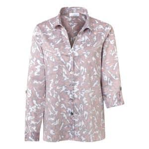 Animal Print Cotton Shirt