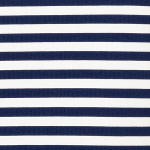 Marine Blue Striped Top