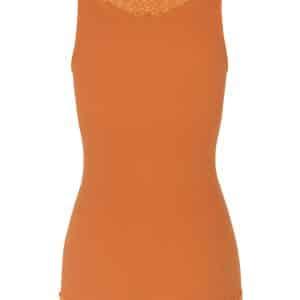 Orange Organic Cotton Vest Top