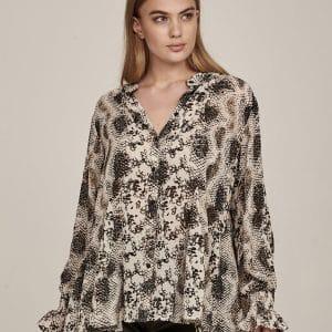 Gail Patterned Shirt