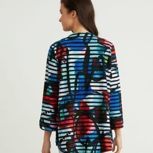 Multi-coloured Jacket Style 211225