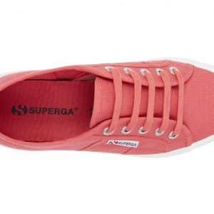 SUPERGA 2750 Cotu Pink Burnished Trainer