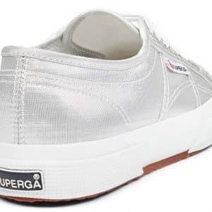 SUPERGA 2750 Cotu Grey Silver Trainer
