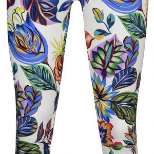 Rose 09 Tropical Floral Trouser