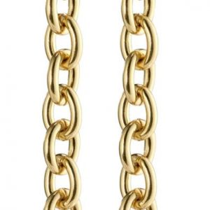 Gold Plated Heritage Dangle Earrings