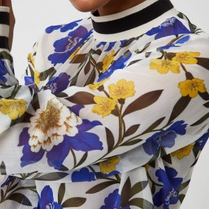 Eloise Sheer Floral Top