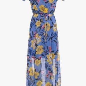 Eloise Sheer Floral Midi Dress
