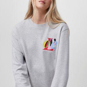 Organic Cotton LOVE Sweatshirt