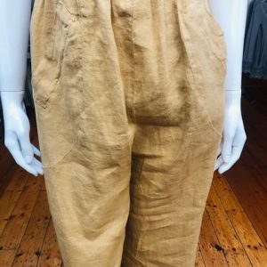 Biscuit Linen Trousers