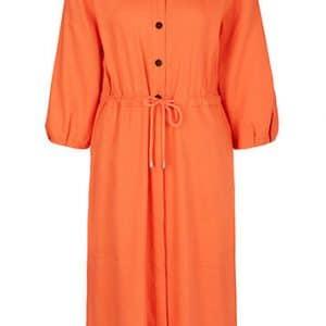 Linen Blend Shirt Dress
