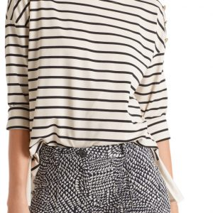 Nautical Striped Jersey Top