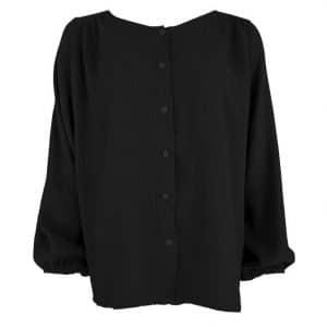 Black Dune Puff Shirt