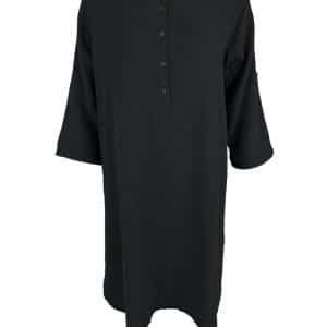 Black Long Dune Shirt