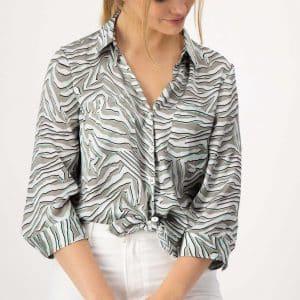 Khaki Cotton Shirt