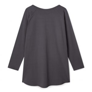 Robyn Charcoal White Star Top
