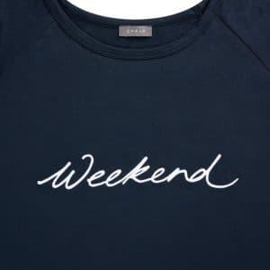 Robyn Navy 'Weekend' Top
