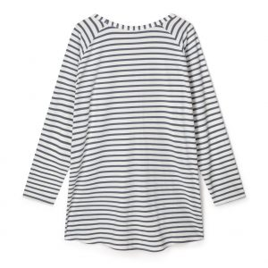 Robyn Charcoal Stripe Top