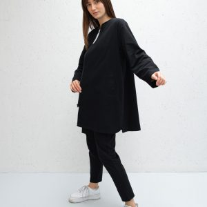 Mia Coat in Black