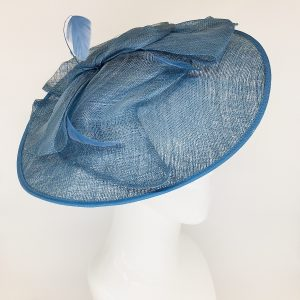 Blue Jay Feather Fascinator