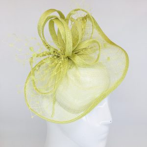Lime Colleen Fascinator