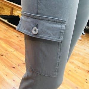 Steffi 09 Khaki Cargo Trousers