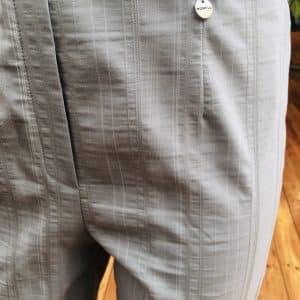 Marie 07 Grey Crop Trouser