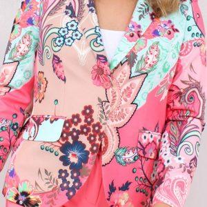 Alex Multicoloured Paisley Blazer