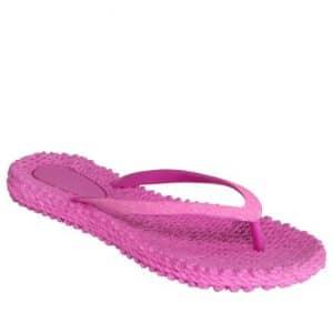Azalea Pink Glitter Flip Flops