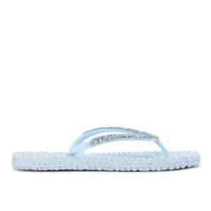 Bluebell Gem Detail Flip Flops