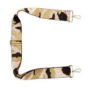 Pink Camouflage Crossbody Strap