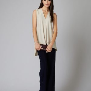 Sand Sleeveless Tunic Style 161060