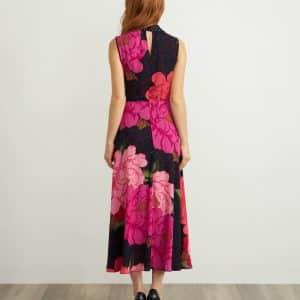 Floral & Polka Dot Dress Style 211279