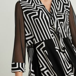 Mesh Panelled Jacket Style 212134