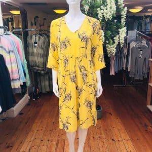 Yellow Floral Nasli Dress