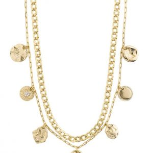 Gold Plated Posey Necklace