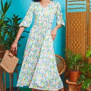Meadow Esme Midi Dress
