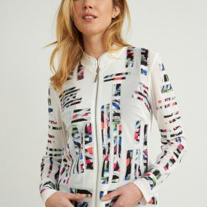 Abstract Jacket Style 212917