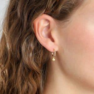 Gold Plated Berta Earrings