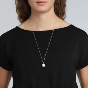 Silver Plated Berta Necklace