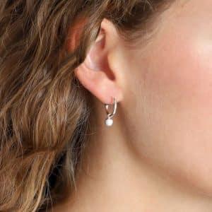 Silver Plated Berta Earrings