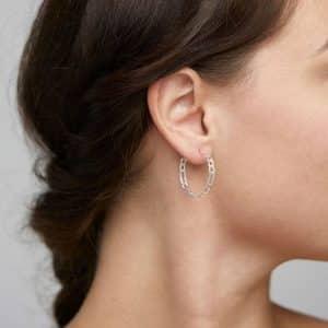 Silver Plated Dale Earrings