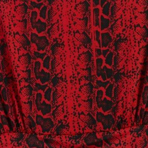 Ophidia Red Crawford Maxi Dress
