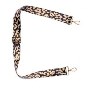 Gold Leopard Crossbody Strap