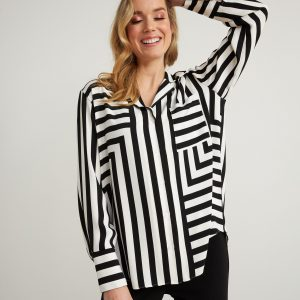 Striped Blouse Style 211025