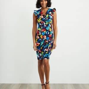 Multi-colour Dress Style 211457